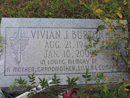 BURTON, VIVIAN J. - Pike County, Ohio | VIVIAN J. BURTON - Ohio Gravestone Photos