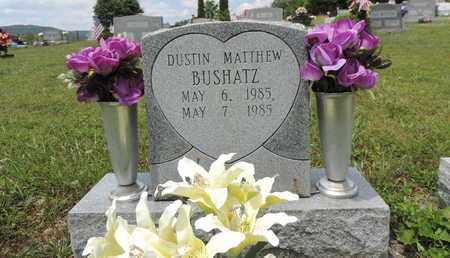 BUSHATZ, DUSTIN MATTHEW - Pike County, Ohio | DUSTIN MATTHEW BUSHATZ - Ohio Gravestone Photos