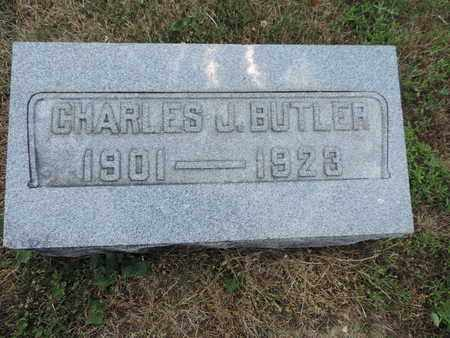 BUTLER, CHARLES J. - Pike County, Ohio | CHARLES J. BUTLER - Ohio Gravestone Photos