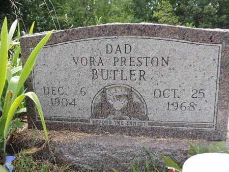 BUTLER, VORA PRESTON - Pike County, Ohio | VORA PRESTON BUTLER - Ohio Gravestone Photos