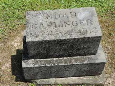 CAPLINGER, NOAH - Pike County, Ohio | NOAH CAPLINGER - Ohio Gravestone Photos