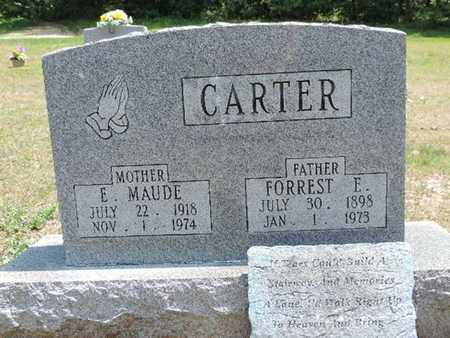 CARTER, FORREST E. - Pike County, Ohio | FORREST E. CARTER - Ohio Gravestone Photos