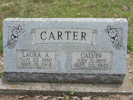 CARTER, LAURA A. - Pike County, Ohio | LAURA A. CARTER - Ohio Gravestone Photos