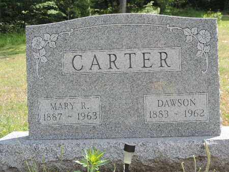 CARTER, MARY R. - Pike County, Ohio | MARY R. CARTER - Ohio Gravestone Photos