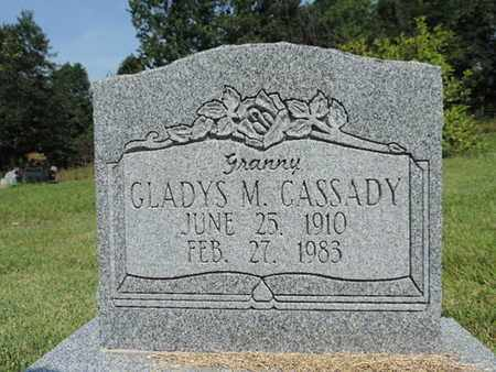 CASSADY, GLADYS M. - Pike County, Ohio | GLADYS M. CASSADY - Ohio Gravestone Photos