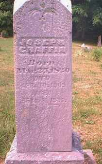 CHAFFIN, JOSEPH SR - Pike County, Ohio | JOSEPH SR CHAFFIN - Ohio Gravestone Photos