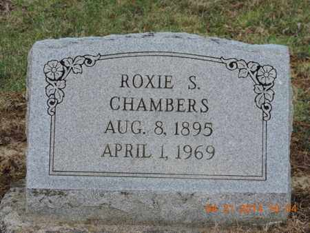CHAMBERS, ROXIE S - Pike County, Ohio | ROXIE S CHAMBERS - Ohio Gravestone Photos
