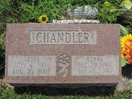 CHANDLER, HENRY - Pike County, Ohio | HENRY CHANDLER - Ohio Gravestone Photos