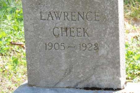 CHEEK, LAWRENCE - Pike County, Ohio | LAWRENCE CHEEK - Ohio Gravestone Photos