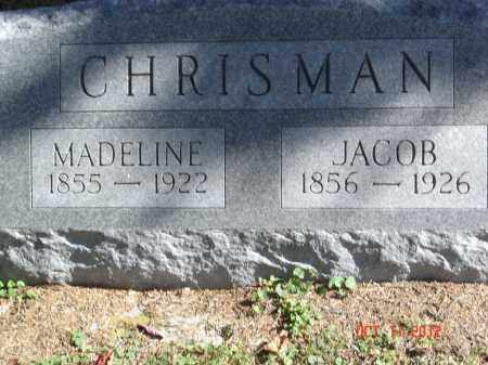 CHRISMAN, JACOB - Pike County, Ohio | JACOB CHRISMAN - Ohio Gravestone Photos
