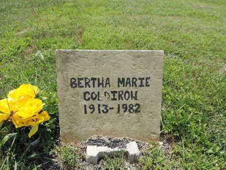 COLDIROW, BERTHA MARIE - Pike County, Ohio | BERTHA MARIE COLDIROW - Ohio Gravestone Photos