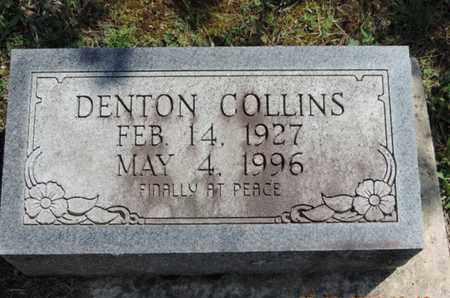 COLLINS, DENTON - Pike County, Ohio | DENTON COLLINS - Ohio Gravestone Photos