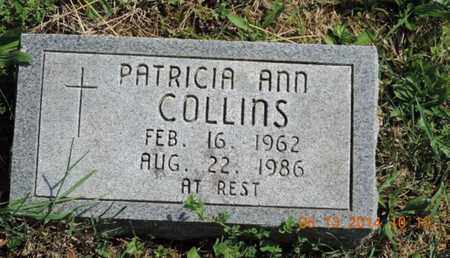 COLLINS, PATRICIA ANN - Pike County, Ohio | PATRICIA ANN COLLINS - Ohio Gravestone Photos