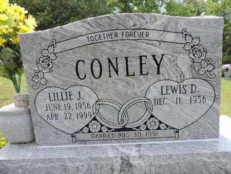 CONLEY, LILLIE J - Pike County, Ohio | LILLIE J CONLEY - Ohio Gravestone Photos