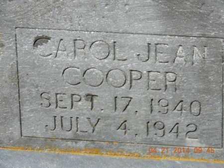 COOPER, CAROL JEAN - Pike County, Ohio | CAROL JEAN COOPER - Ohio Gravestone Photos
