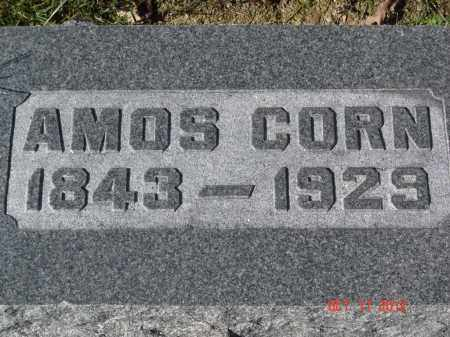 CORN, AMOS - Pike County, Ohio | AMOS CORN - Ohio Gravestone Photos