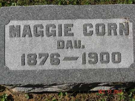 CORN, MAGGIE - Pike County, Ohio | MAGGIE CORN - Ohio Gravestone Photos