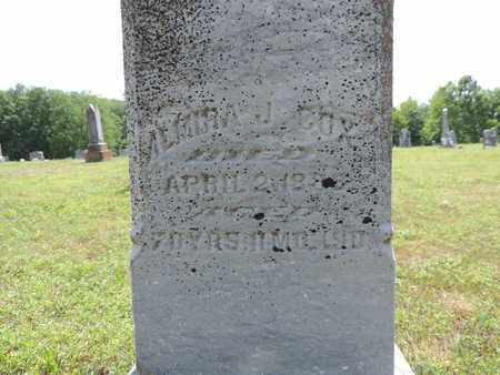 COX, ALMIRA J. - Pike County, Ohio | ALMIRA J. COX - Ohio Gravestone Photos