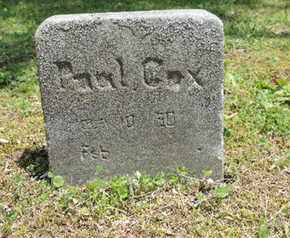 COX, PEARL - Pike County, Ohio | PEARL COX - Ohio Gravestone Photos