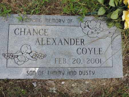 COYLE, CHANCE ALEXANDER - Pike County, Ohio | CHANCE ALEXANDER COYLE - Ohio Gravestone Photos