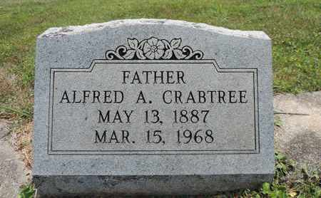 CRABTREE, ALFRED A. - Pike County, Ohio | ALFRED A. CRABTREE - Ohio Gravestone Photos