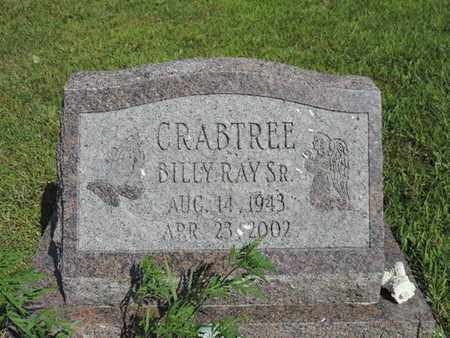 CRABTREE, BILLY RAY SR. - Pike County, Ohio | BILLY RAY SR. CRABTREE - Ohio Gravestone Photos