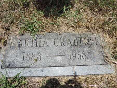CRABTREE, MARTHA - Pike County, Ohio | MARTHA CRABTREE - Ohio Gravestone Photos