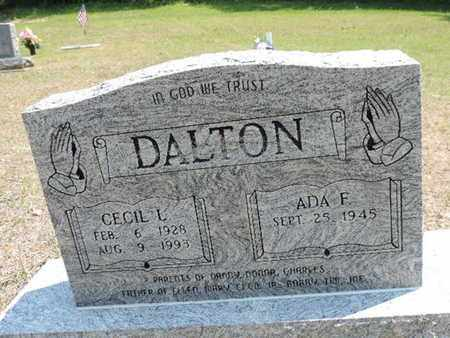 DALTON, ADA F. - Pike County, Ohio | ADA F. DALTON - Ohio Gravestone Photos