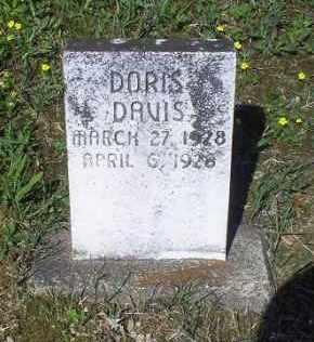 DAVIS, DORIS - Pike County, Ohio   DORIS DAVIS - Ohio Gravestone Photos