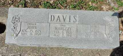 DAVIS, JOHN - Pike County, Ohio | JOHN DAVIS - Ohio Gravestone Photos