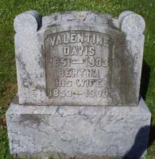DAVIS, BERTHA - Pike County, Ohio | BERTHA DAVIS - Ohio Gravestone Photos
