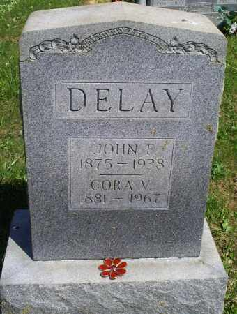 DELAY, CORA V. - Pike County, Ohio | CORA V. DELAY - Ohio Gravestone Photos