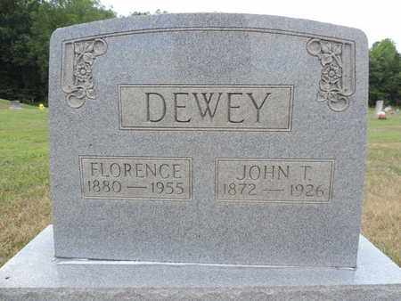 DEWEY, JOHN T. - Pike County, Ohio | JOHN T. DEWEY - Ohio Gravestone Photos