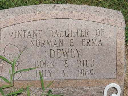 DEWEY, INFANT - Pike County, Ohio | INFANT DEWEY - Ohio Gravestone Photos
