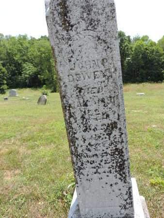 DEWEY, JOHN P. - Pike County, Ohio | JOHN P. DEWEY - Ohio Gravestone Photos