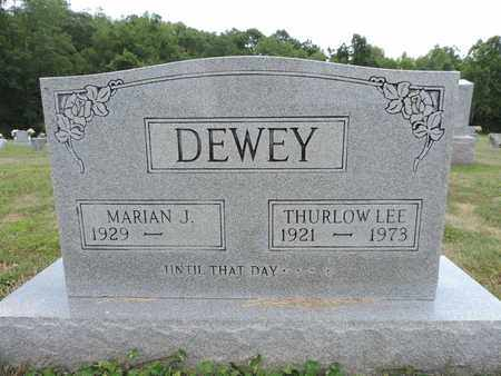 DEWEY, THURLOW LEE - Pike County, Ohio | THURLOW LEE DEWEY - Ohio Gravestone Photos