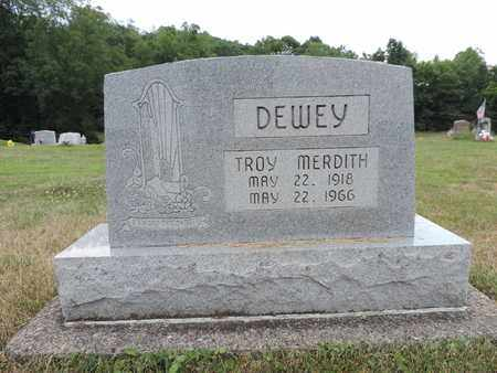 DEWEY, TROY MERDITH - Pike County, Ohio | TROY MERDITH DEWEY - Ohio Gravestone Photos