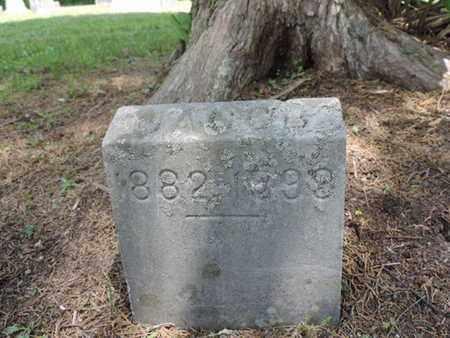 DON'T KNOW, JACOB - Pike County, Ohio   JACOB DON'T KNOW - Ohio Gravestone Photos