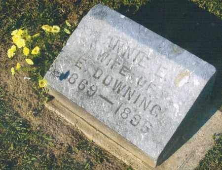 DOWNING, ANNIE - Pike County, Ohio | ANNIE DOWNING - Ohio Gravestone Photos