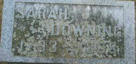HAYDEN DOWNING, SARAH - Pike County, Ohio | SARAH HAYDEN DOWNING - Ohio Gravestone Photos