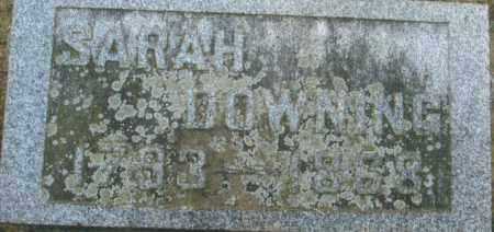 DOWNING, SARAH - Pike County, Ohio | SARAH DOWNING - Ohio Gravestone Photos