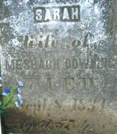 DOWNING DOWNING, SARAH - Pike County, Ohio | SARAH DOWNING DOWNING - Ohio Gravestone Photos