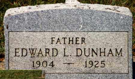 DUNHAM, EDWARD L. - Pike County, Ohio | EDWARD L. DUNHAM - Ohio Gravestone Photos