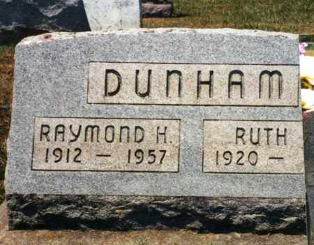 DUNHAM, RAYMOND HOWARD - Pike County, Ohio | RAYMOND HOWARD DUNHAM - Ohio Gravestone Photos