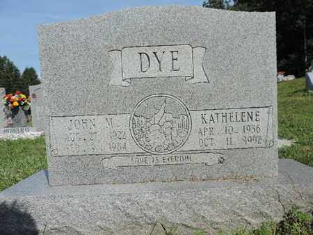 DYE, KATHELENE - Pike County, Ohio | KATHELENE DYE - Ohio Gravestone Photos