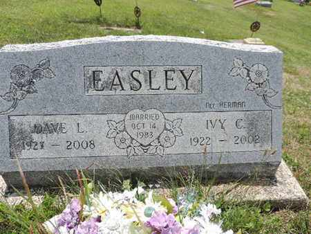 EASLEY, IVY C. - Pike County, Ohio | IVY C. EASLEY - Ohio Gravestone Photos