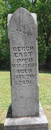 EAST, BERCH - Pike County, Ohio | BERCH EAST - Ohio Gravestone Photos