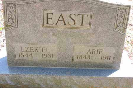 EAST, ARIE - Pike County, Ohio | ARIE EAST - Ohio Gravestone Photos