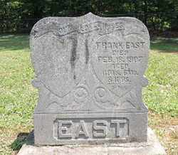 EAST, FRANK - Pike County, Ohio | FRANK EAST - Ohio Gravestone Photos