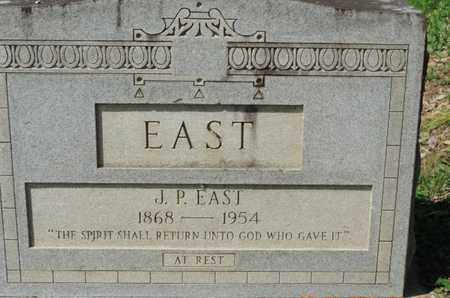 EAST, J.P. - Pike County, Ohio | J.P. EAST - Ohio Gravestone Photos